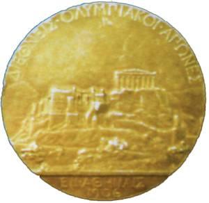 История Олимпийских игр. Медали. Значки. Плакаты