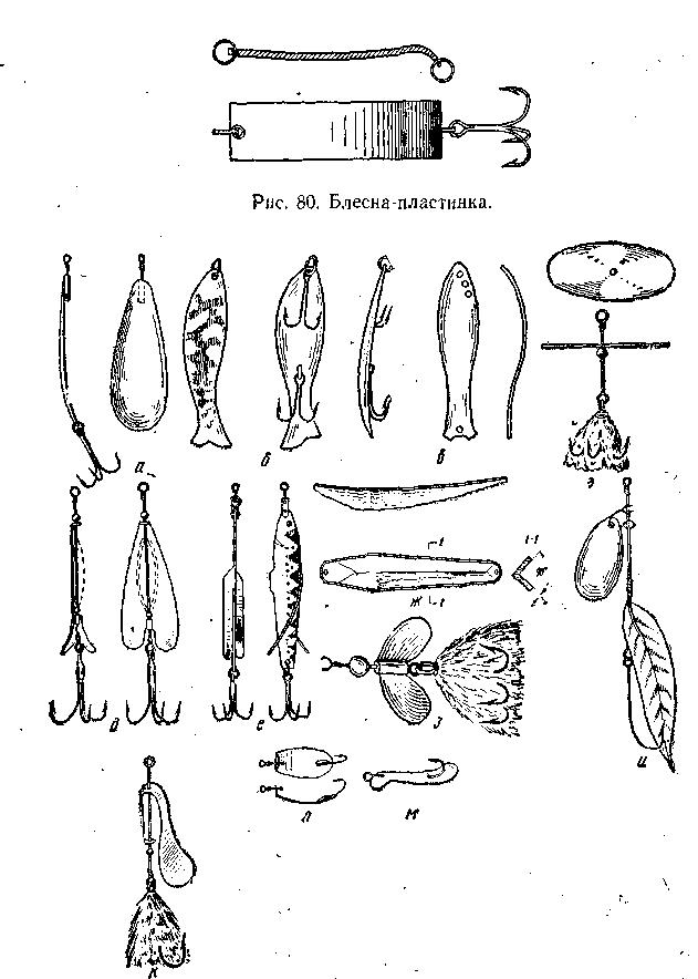 Рыболовные любительские снасти
