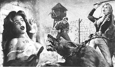 Пытки узниц пленниц