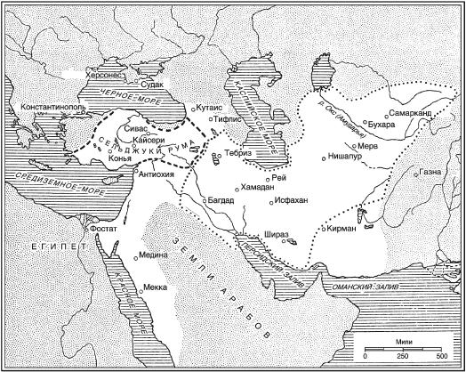 Сельджуки. Кочевники - завоеватели Малой Азии