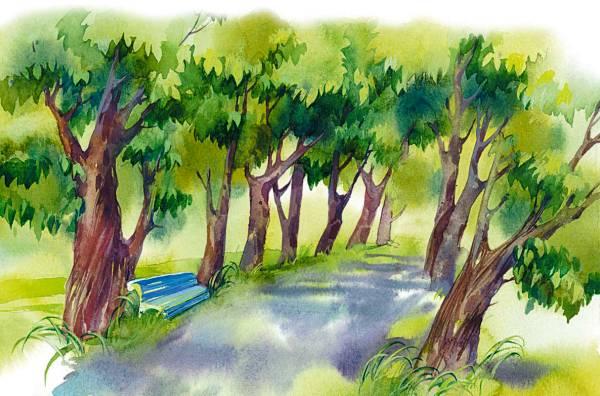 Синие листья (сборник)