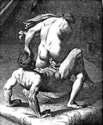 Сексуальная поза дилижанс