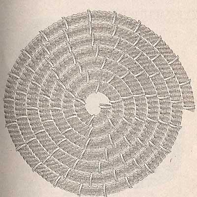 Плетение из соломки - от деда