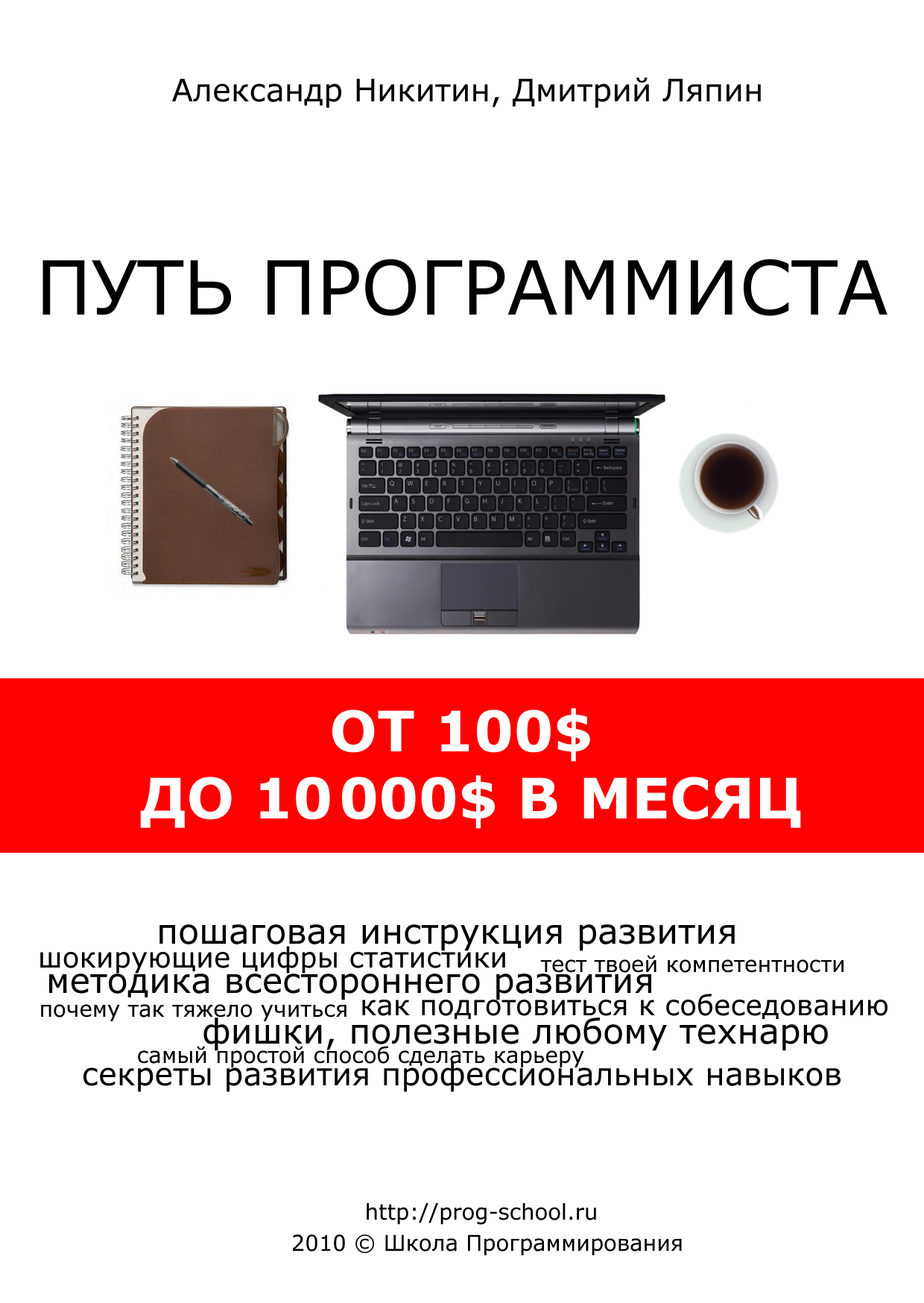 Путь программиста: от 100$ до 10000$ в месяц