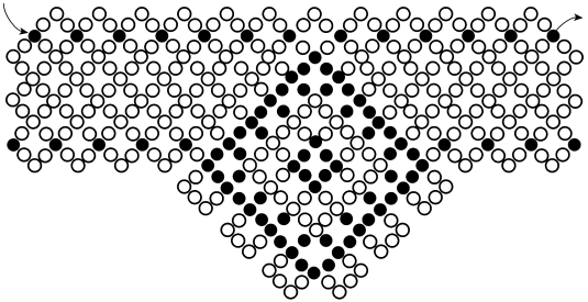 Схема колье «Этюд»