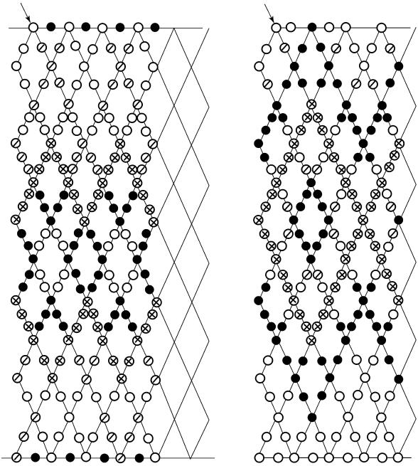 Схемы ажурных сеток с учетом