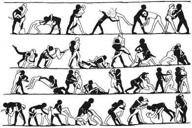 Древнеегипетская борьба для война
