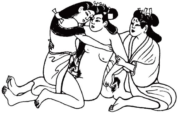 Лесу фото рисунки картинки группового секса