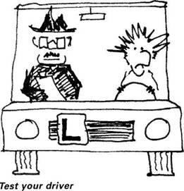 writing drivers test