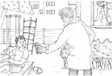 Раскраска по антитеррору для детей