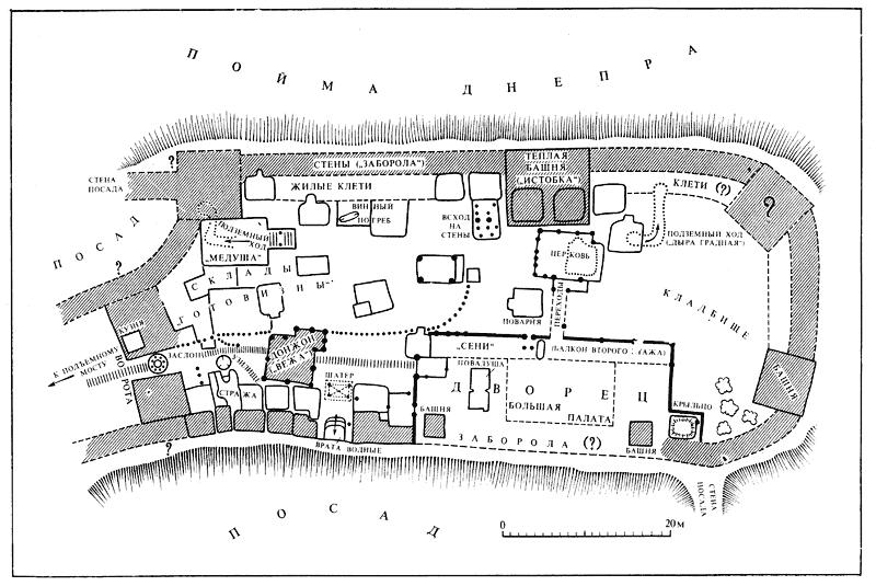 Раскопки замка Владимира