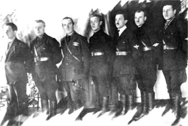 Военных летчиков 1 й конной армии 1920 г