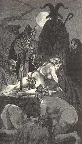 книга молот с картинками ведьм