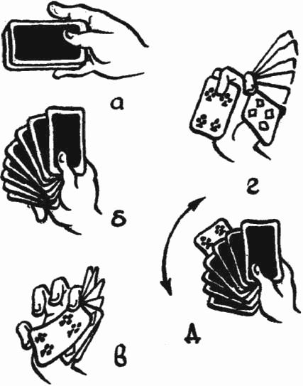 Фото схемы фокусы с картами