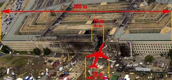 11 сентября 2001 пентагон фото