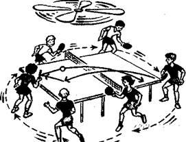 Учись играть в настольный теннис