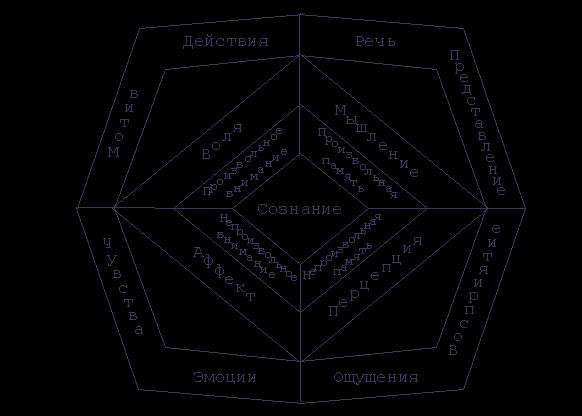 структуры психики в