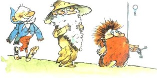 Муфта, Полботинка и Моховая Борода (книга 3)