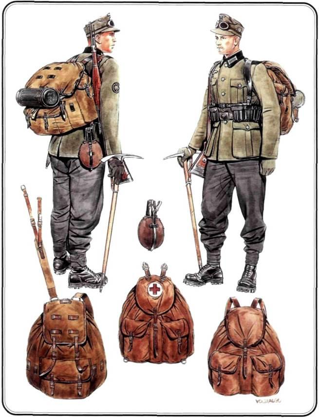 Полевой рюкзак вермахта спортивны рюкзак