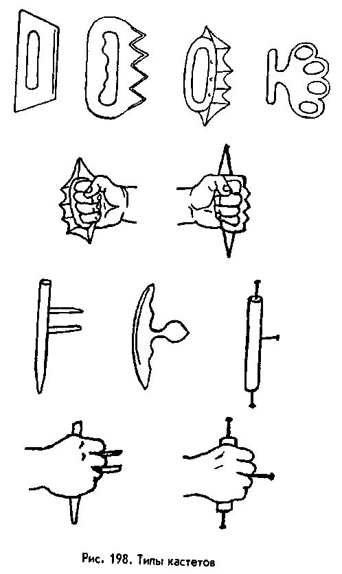 Как сделать кастет на руку