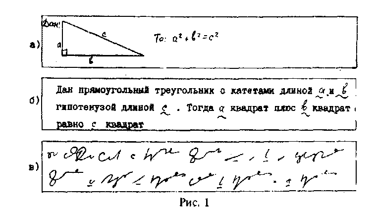 Как читается теорема пифагора