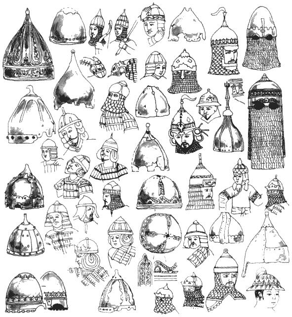 Шлемы Золотой Орды