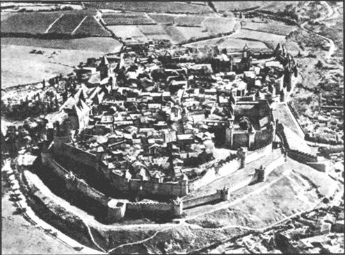 Средневековый город Каркассон
