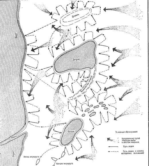 Примерная схема маршрута при