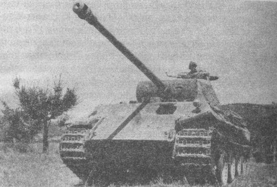Немецкие танки в бою