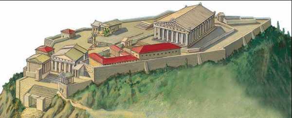 Афинский Акрополь. 447 – кон.