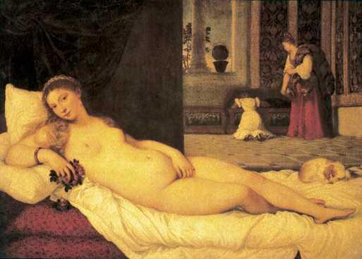 венера урбинская 1538 тициана