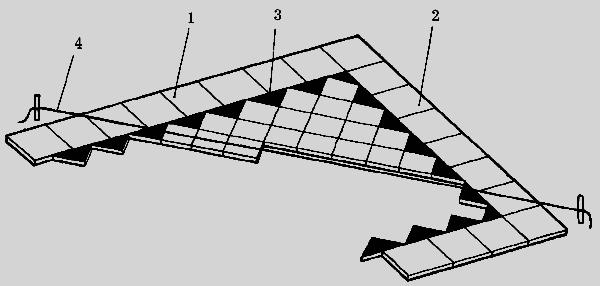 диагонали: 1,2 – фризовые