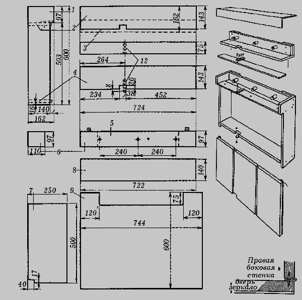 и планировка дома: Спальня