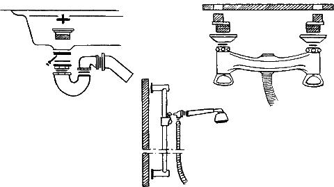 б – установка смесителя;