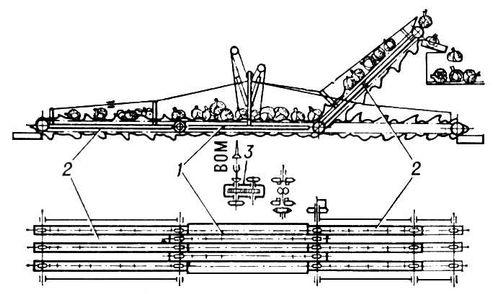 транспортёр (схема): 1