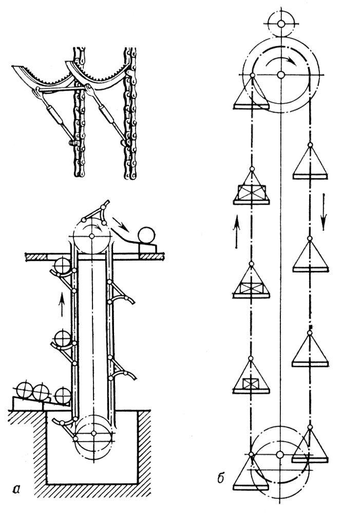 Схемы вертикальных двухцепных