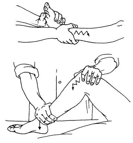 массаж при бронхиальной астме техника