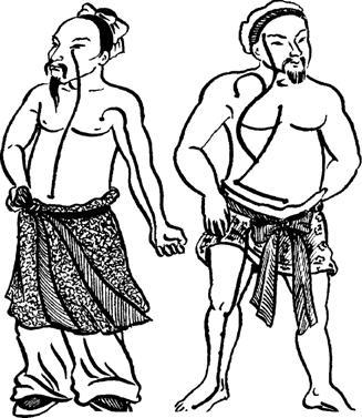 Раскраска древний китай