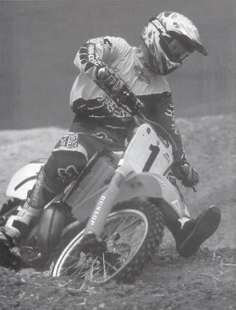 приемы вождения кроссового мотоцикла #5