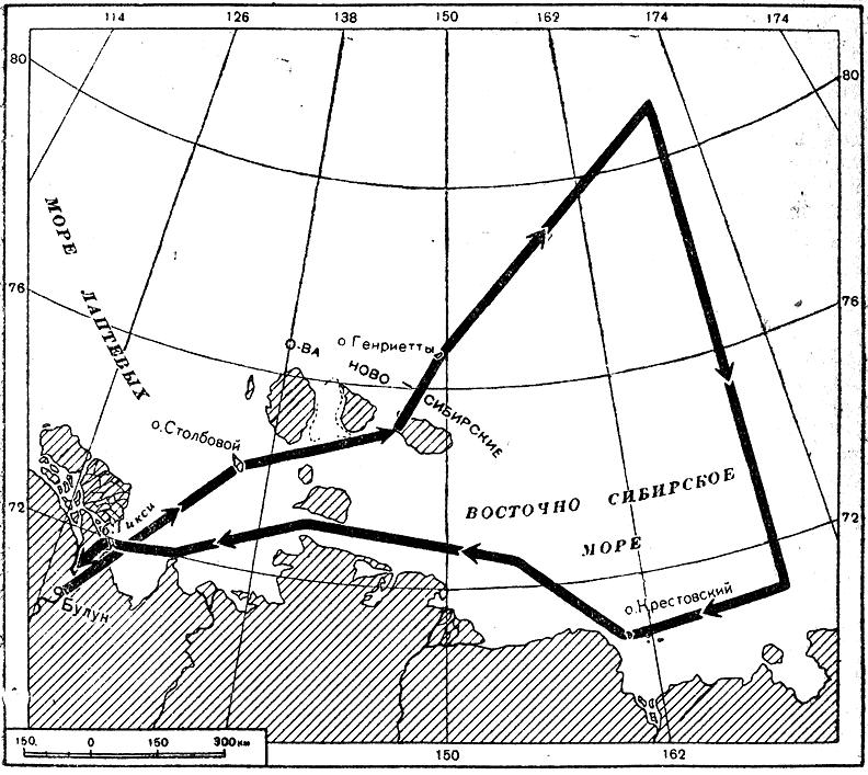 Маршрут ледовой разведки