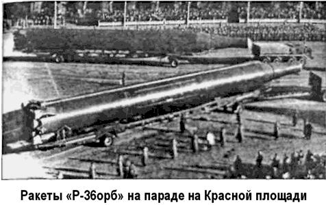 Проект «Р-36» (Системы частично-орбитальной бомбардировки) - Битва ...