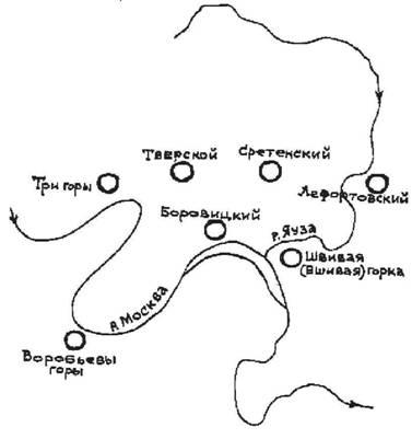 Схема семихолмья