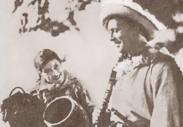 Любовь Орлова: На съемках первой советской комедии «Веселые ребята