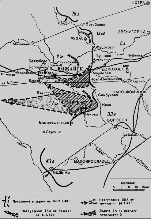 Схема 14. Планы фронтового и
