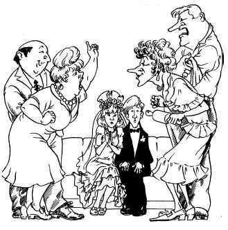 Если жених дарит невесте бытовую