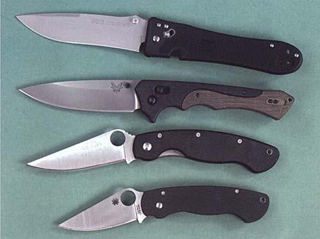 размеры складного ножа