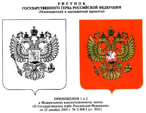 кто определяет порядок изготовления гербовых бланков в российской