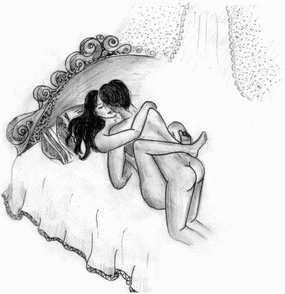 Секс поза распустившегося цветка