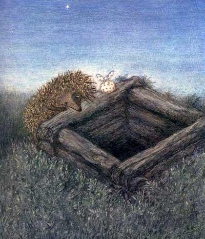 Ёжик в тумане (иллюстр. Ф.Ярбусовой)