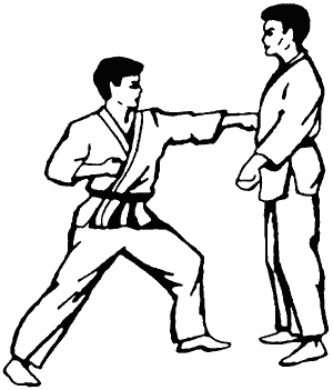 Схема блоков в карате